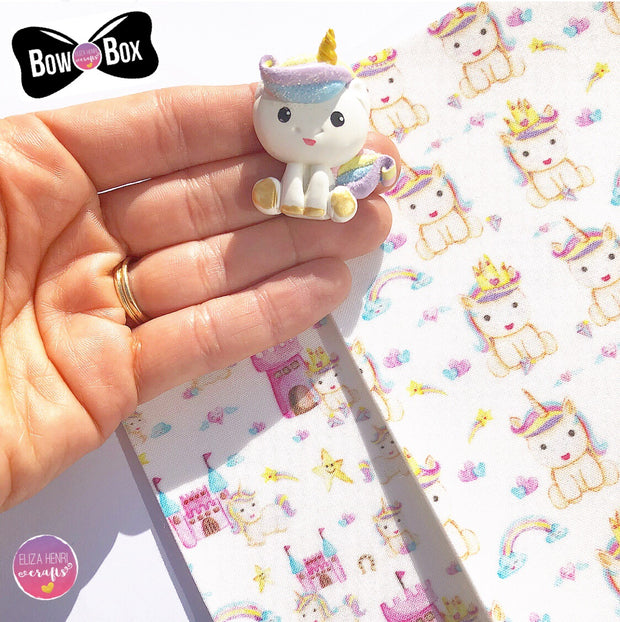 EXCLUSIVE Princess Unicorn Clay Charms