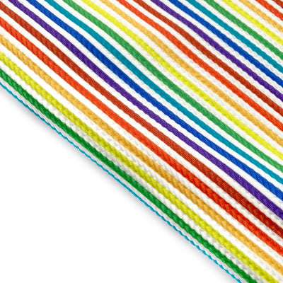 Rainbow Stripe Rolly Rolly Bullet Fabric