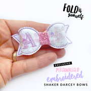 Exclusive Fold it Darcey Shaker Feltie Bows- 2.5'' DIY Make your own Bow