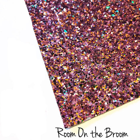 Exclusive Room on the Broom Chunky Glitter Fabric