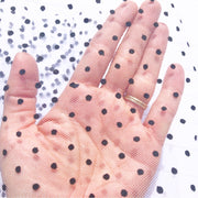 Luxury Polka Dot Tulle Fabric