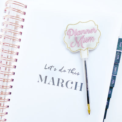 Planner Mum Pen Topper Felties