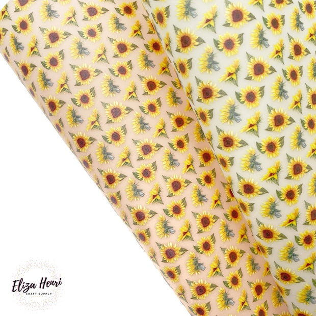 Sunflower Jelly Fabric Sheets