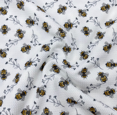 Busy Bees Premium Bullet Fabric