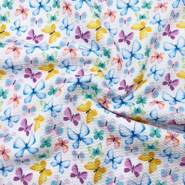 Sweet Little Butterfly Premium Bullet Fabric