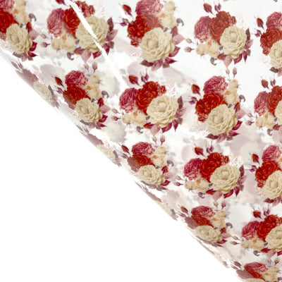 Autumn Rose Transparent Fabric Sheets