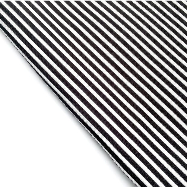 Black & White Stripe Rolly Rolly Bullet Fabric