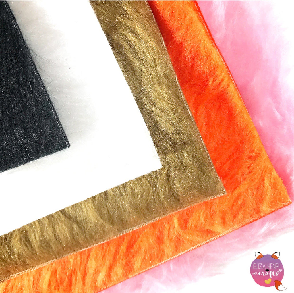 Woodland Fun Faux Fur Fabric Felt