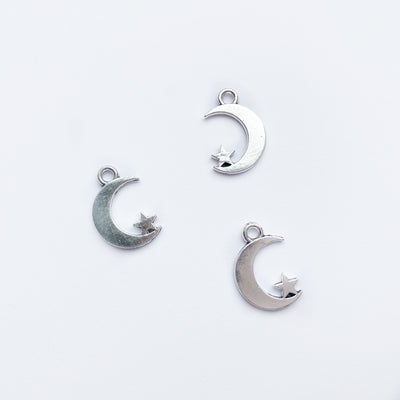 Moon & Star Charms