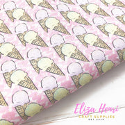 New Ice Cream Pink Standard Fabric Felt
