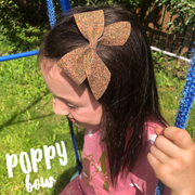 The Poppy Bow EXCLUSIVE Hair Die Compatible with Big Shot