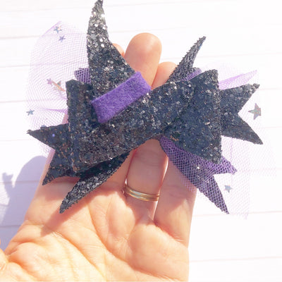 OTT Witches Bow Hair Bow Template/Die Cutter
