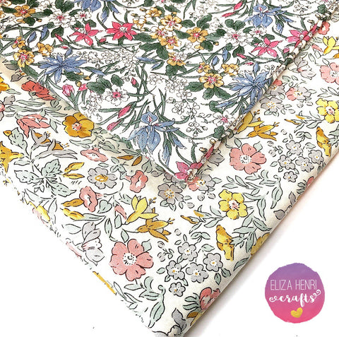 Spring Liberty Collection- Luxury Liberty of London Fabric Felts