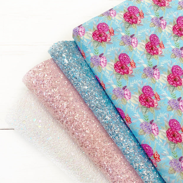 The Pretty Petals Collection- Beautiful Featured Fabrics