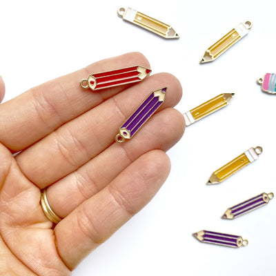 Colouring Pencil Charms