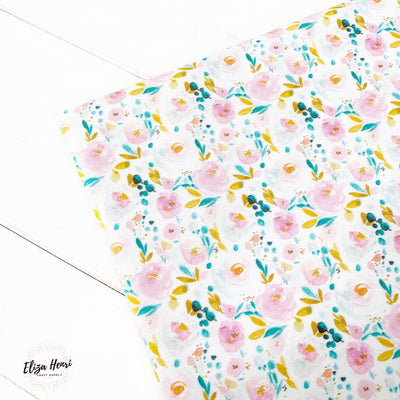Where flowers Bloom, so does hope Premium Artisan Fabric Felt
