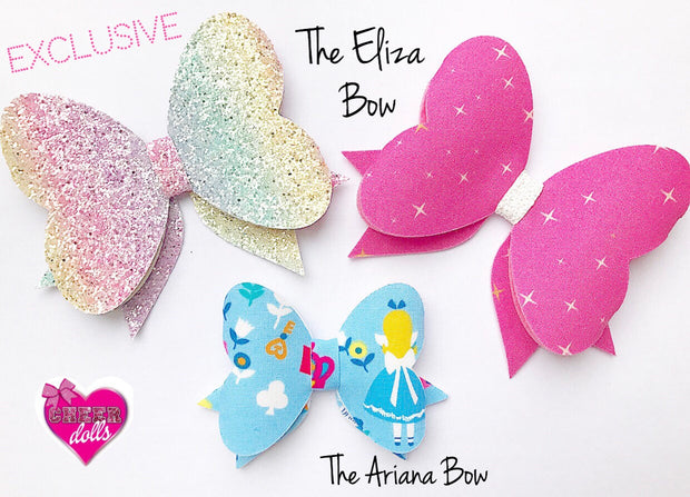 The Ariana Bow EXCLUSIVE Hair Die Compatible with Big Shot