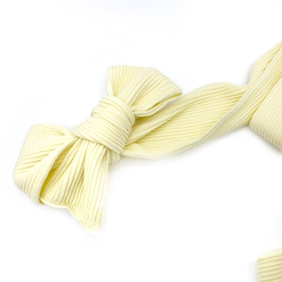 Ribbed Nylon Limitless Strips- Lemon