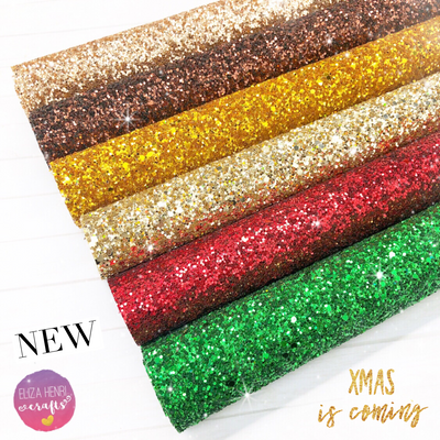 The Classic Chunky Glitter Fabric collections