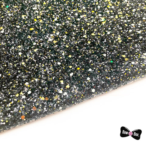 Glow in the dark Chunky Glitter Fabric
