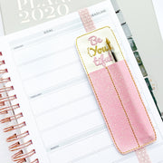 Be(you)tiful Planner Pen Holder Bookmark Felties