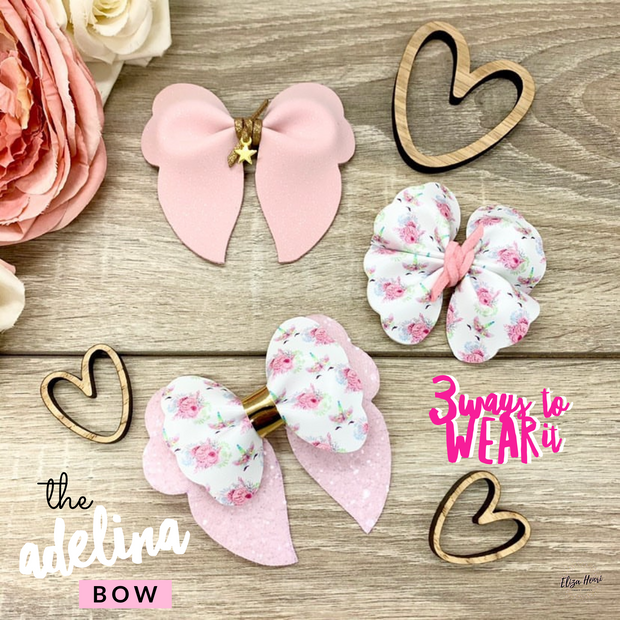 The Adelina Hair Bow- Die Cutter/Template