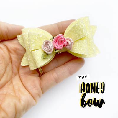 Honey Hair Bow Template/Die Cutters
