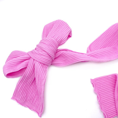 Ribbed Nylon Limitless Strips- Candy Pink