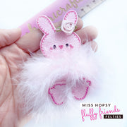 Miss Hopsy Bunny- Fluffy Friends Felties
