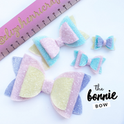 The Bonnie Bow Hair Bow- Template for hand-cutting