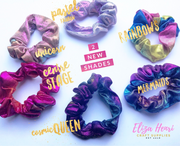 Holographic Hair Scrunchies