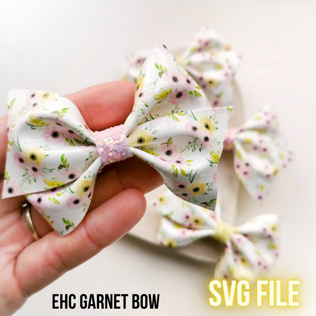 EHC Exclusive Garnet Bow SVG