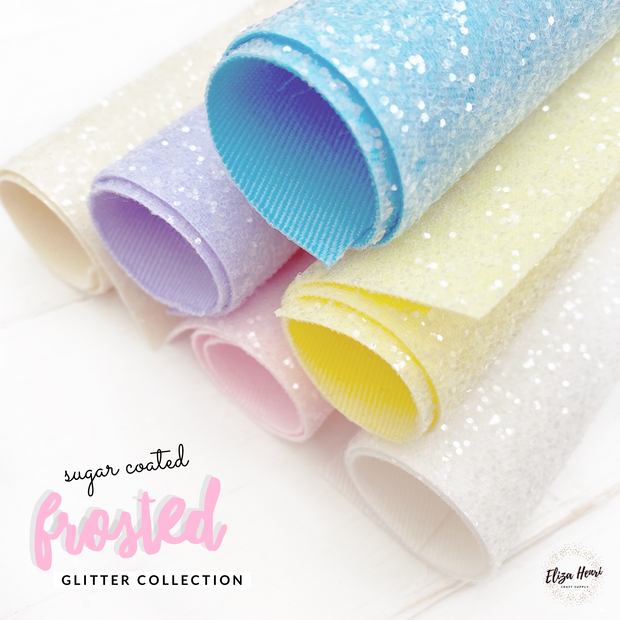 Premium Essentials Sugar Coated Glitter Fabric Sheets