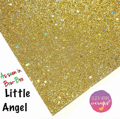 Little Angel Fine Glitter Fabric