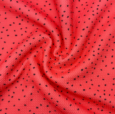 Watermelon Seeds Premium Bullet Fabric