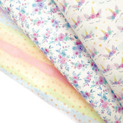 Rainbows and Stars Jelly Fabric Sheets