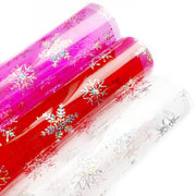 Let It Snow Transparent PVC Fabric