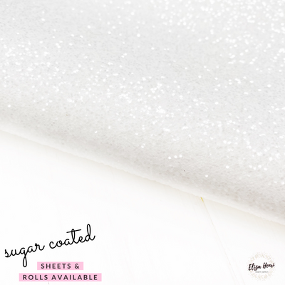 Sugar Coated Lux Premium Chunky Glitter Fabric