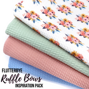 Flutterbye Ruffle Layered Bullet Fabric Inspiration Pack
