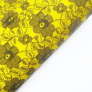 Mrs Bumble Bee Lace Wool Blend Fabric Felt