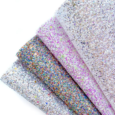 By the Seaside Chunky Glitter Fabrics