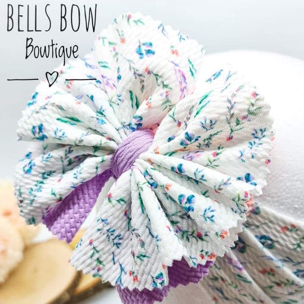 Bells Bow Bowtique Ruffle Layered Bullet Fabric Inspiration Pack