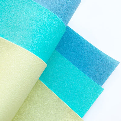 Spring has sprung Faux Suede Glitter Fabric Sheets