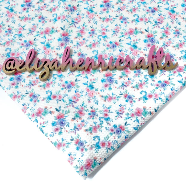 EHC Unicorn Floral Bullet Fabric