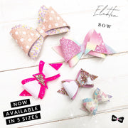 The Elektra Bow EXCLUSIVE Hair Die Compatible with Big Shot plus