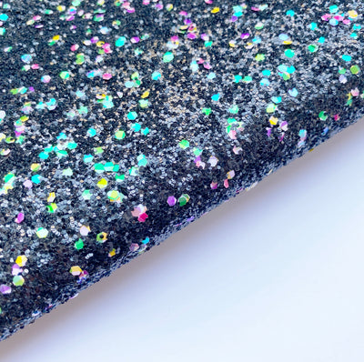 Touch of Scrooge Chunky Glitter Fabric