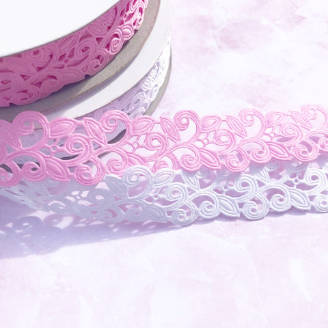 Luxury Lace Ribbon 22mm 7/8""