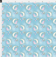 Pastel Unicorn Xmas Artisan Fabric Felts