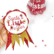 Exclusive EHC Christmas Badge Shaker Felties