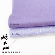 100% Wool Felt & Glitter Perfect Pair Duo Sets